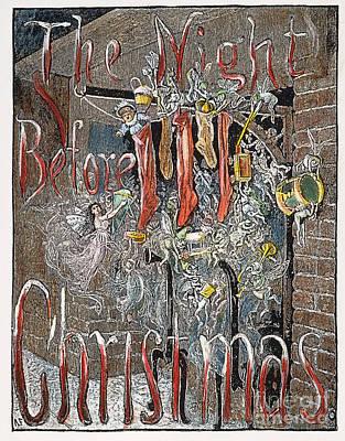 Night Before Christmas Art Print by Granger