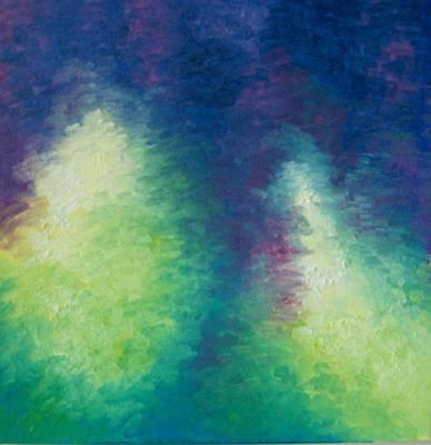 Northern Lights Art Print by Kimberly Davison