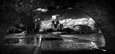 Photograph - Notre Dame Paris by Radoslav Nedelchev
