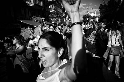 Occupy Gezi - Protests Against Turkish Government Art Print by Ilker Goksen