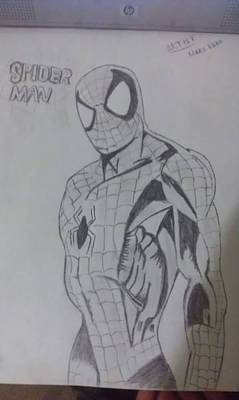 Drawing - 4 Of 10 by Maaz Ali Nizamani