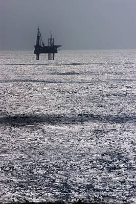 Mexicano Photograph - Oil Platform by Arno Massee