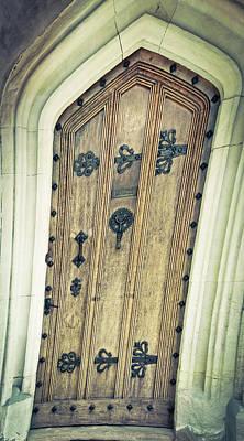 Cellar Photograph - Old Door by Tom Gowanlock