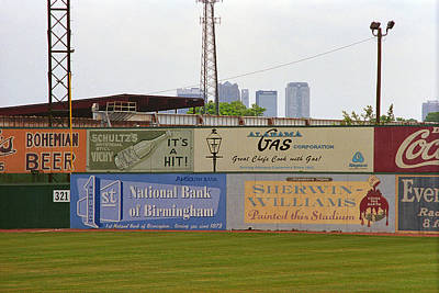 Photograph - Old Time Baseball Field by Frank Romeo