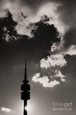 Photograph - Olympic Tower Munich by Rudi Prott