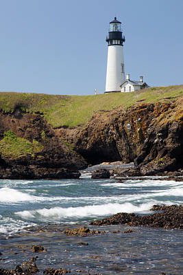 Or, Oregon Coast, Newport, Yaquina Head Art Print