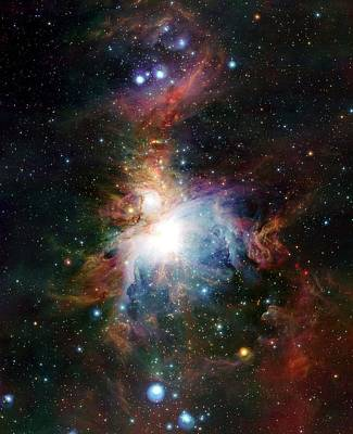 Orion Nebula Art Print by European Southern Observatory/science Photo Library