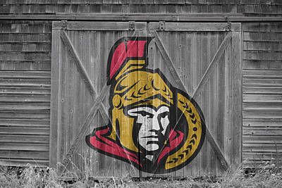 Photograph - Ottawa Senators by Joe Hamilton