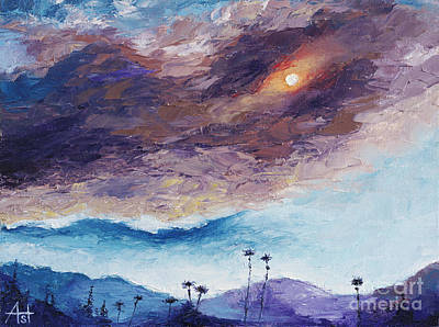 Painting - Palm Springs Summer by Natalia Astankina