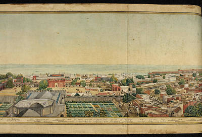 Delhi Photograph - Panorama Of Delhi by British Library