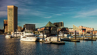 Baltimore Photograph - Panoramic View Of Baltimore Inner by Panoramic Images