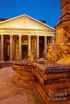 Photograph - Pantheon by Brian Jannsen