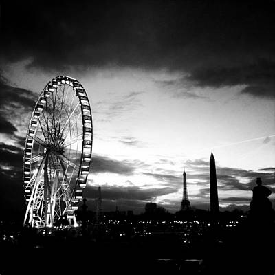Paris Skyline Royalty-Free and Rights-Managed Images - Paris - Concorde by Vincent Leprince