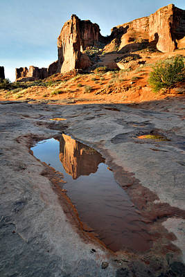 Photograph - Park Avenue Reflection by Ray Mathis
