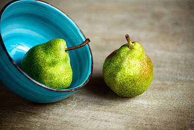 Pears Art Print by Nailia Schwarz