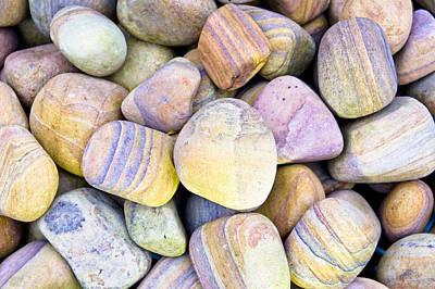 Numerous Photograph - Pebbles by Tom Gowanlock