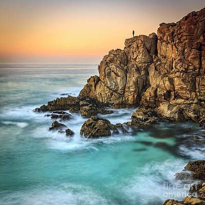 Penencia Point Galicia Spain Art Print