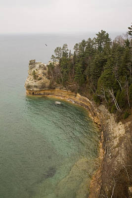 Pictured Rocks Art Print by Gary Marx