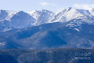Steven Krull Royalty-Free and Rights-Managed Images - Pikes Peak by Steven Krull