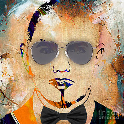 Pitbull Mixed Media - Pitbull Collection by Marvin Blaine