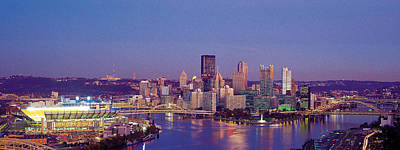 Pittsburgh Pa Photograph - Pittsburgh, Pennsylvania, Usa by Panoramic Images