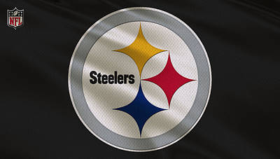 Galaxies Photograph - Pittsburgh Steelers Uniform by Joe Hamilton
