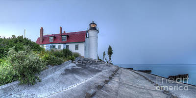 Sleeping Photograph - Point Betsie Lighthouse by Twenty Two North Photography