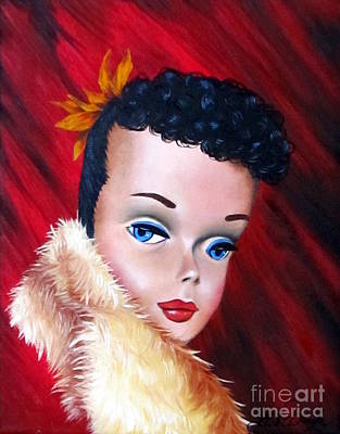 barbie paintings fine art america