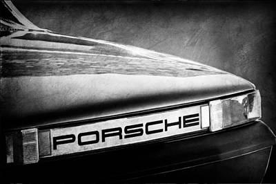 Photograph - Porsche Taillight Emblem by Jill Reger