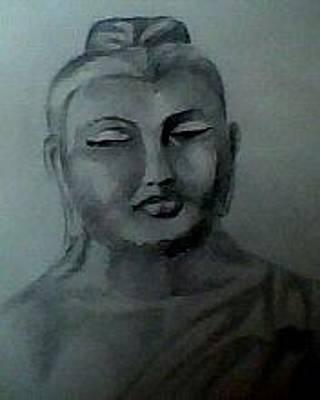Painting - Portrait by Hihani Gautam