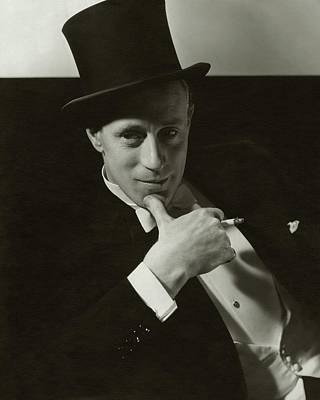 Film Photograph - Portrait Of Leslie Howard by Edward Steichen