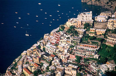 Photograph - Positano Town In Italy by George Atsametakis