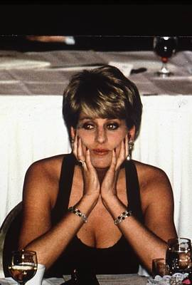 Prince Harry Photograph - Princess Diana by Retro Images Archive