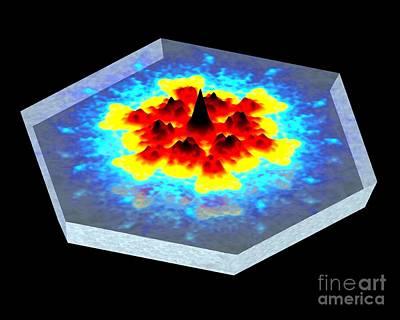 Screenshot Photograph - Quantum Waves In Topological Insulators by Dr. Ali Yazdani
