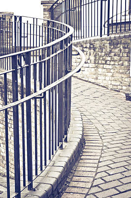 Enigmatic Photograph - Railings by Tom Gowanlock