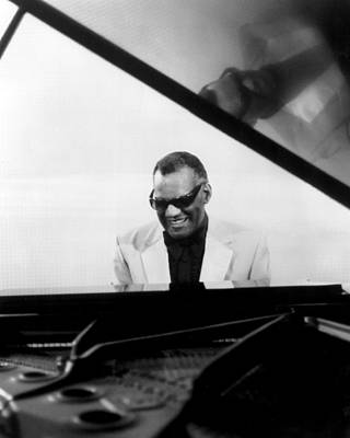 Celebrities Photograph - Ray Charles by Retro Images Archive