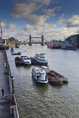 Pop Art Rights Managed Images - River Thames view Royalty-Free Image by David Pyatt