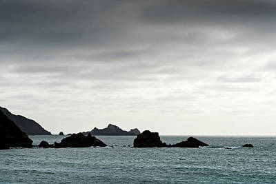 Pacifica Photograph - Rock Formations In The Pacific Ocean by Panoramic Images