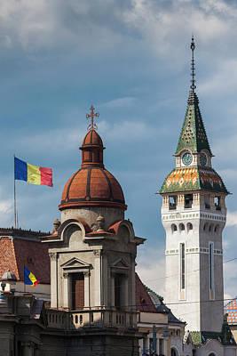 Romania, Transylvania, Targu Mures Art Print by Walter Bibikow