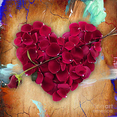 Roses Collection Art Print by Marvin Blaine
