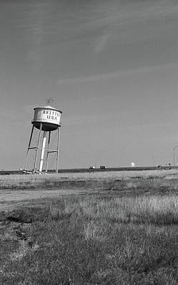 Britten Photograph - Route 66 - Leaning Water Tower by Frank Romeo