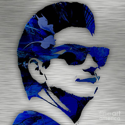 Roy Orbison Collection. Art Print by Marvin Blaine