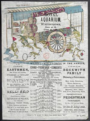 Menagerie Photograph - Royal Aquarium by British Library