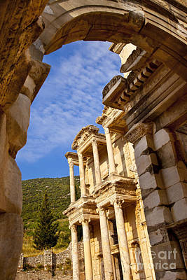 Photograph - Ruins Of Ephesus by Brian Jannsen