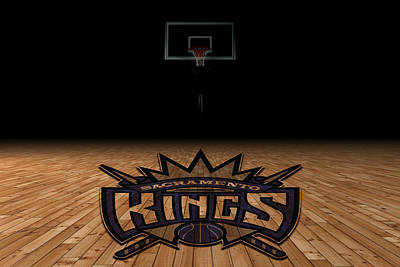 Sacramento Kings Art Print by Joe Hamilton