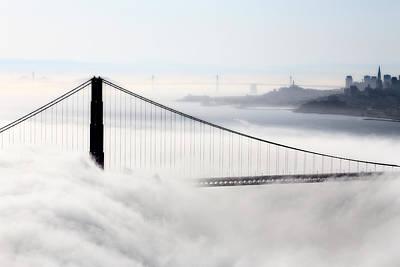 Impressionist Landscapes - San Francisco Skyline by Mark Duffy