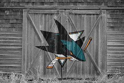 Photograph - San Jose Sharks by Joe Hamilton