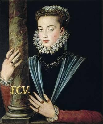 Sanchez Coello, Alonso 1531-1588 Art Print by Everett