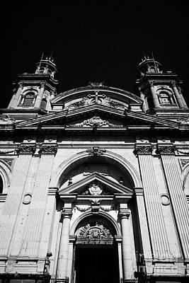 Santiago Metropolitan Cathedral Chile Art Print by Joe Fox