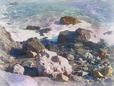 Painting - Seascape Study by Philip White